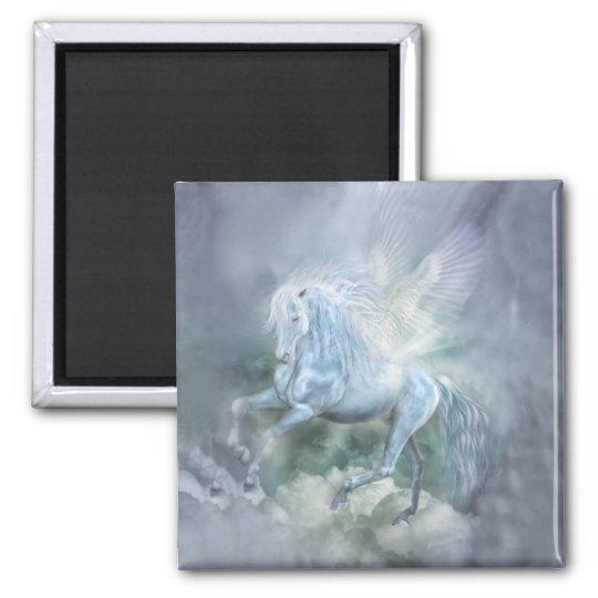 Cloud Dancer Art Magnet