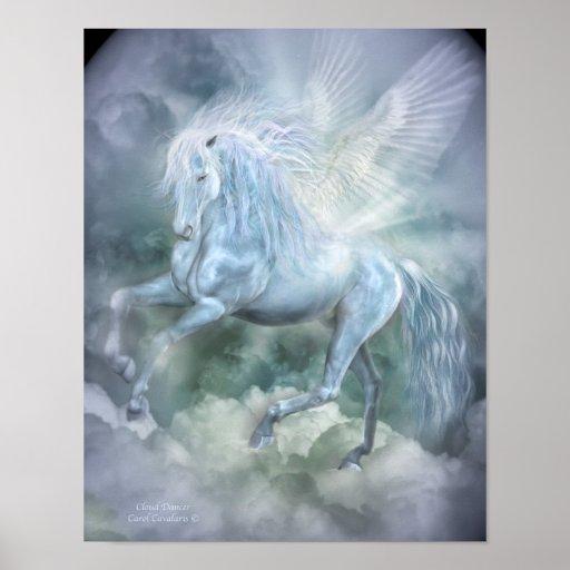 Cloud Dancer Fantasy Art Poster/Print