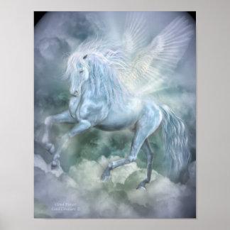 Cloud Dancer Fantasy Art Poster/Print Poster