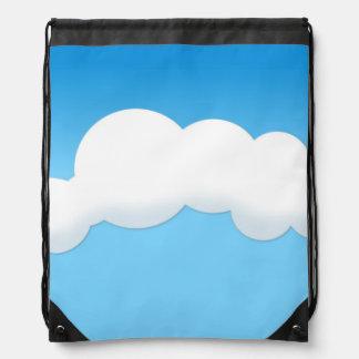 Cloud Drawstring Bag