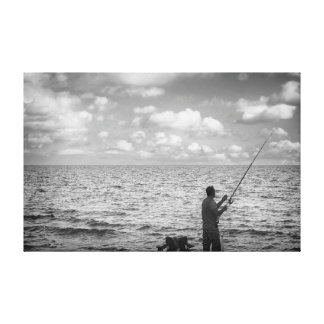 Cloud Fisher Canvas Print