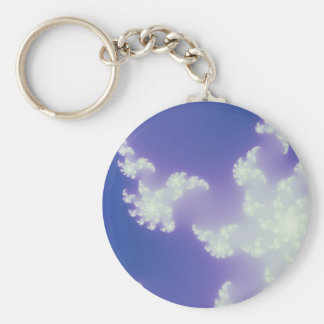 Cloud Fractal Keychain