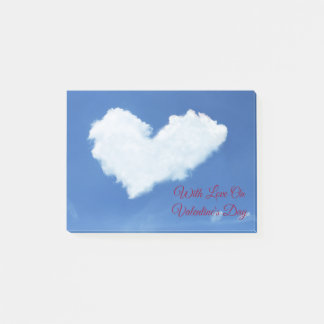 Cloud Heart Post-it Notes