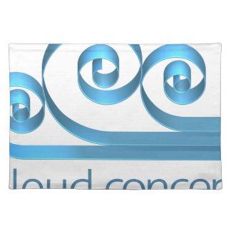 Cloud Icon Concept Placemat