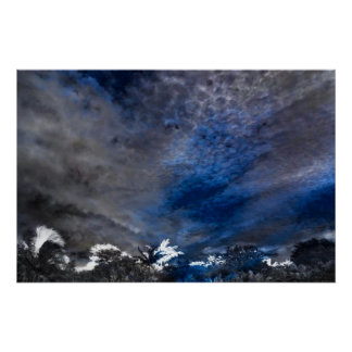 Cloud Impressions Poster