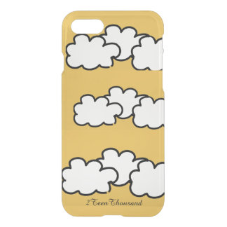 """"""" Cloud """" iPhone 7 (clearly deflector) Case"""