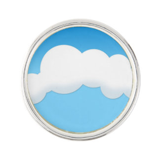 Cloud Lapel Pin