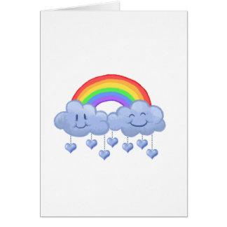 Cloud love Valentine's day Card