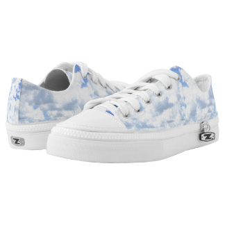 Cloud Low Tops Printed Shoes