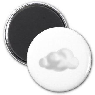 Cloud Refrigerator Magnets