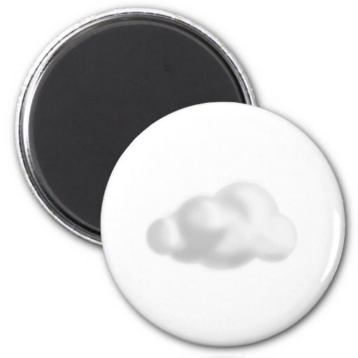 Cloud Refrigerator Magnets