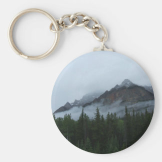 Cloud Mountain Key Ring