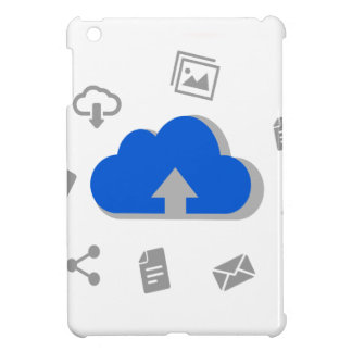 Cloud of ascent to Internet with icons iPad Mini Cases