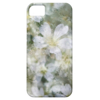 Cloud of White Flowers Barely There iPhone 5 Case