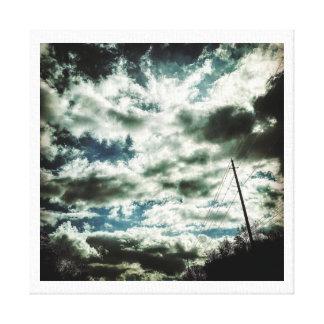 Cloud Painting Canvas Print