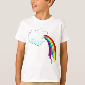 Cloud Puking Rainbow T-shirt