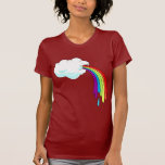 Cloud Puking Rainbows Tee Shirt