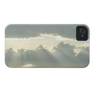 Cloud Rays iPhone 4 Case-Mate Case