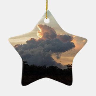 Cloud Shark Ceramic Star Decoration
