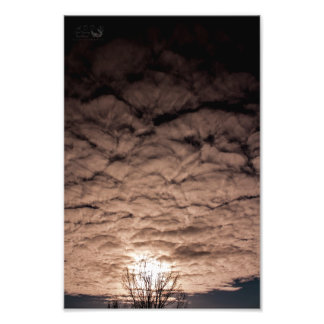Cloud Shells In The Sky 2- Print Kodak Photo Paper