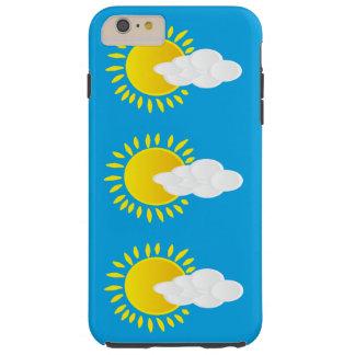 Cloud Sky Sun Image Iphone 6 Tough iPhone 6 Plus Case