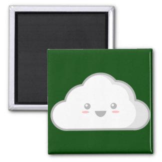 Cloud Square Magnet