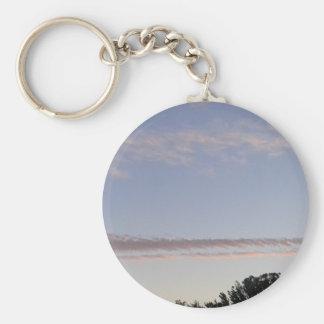 Cloud Streak Key Ring