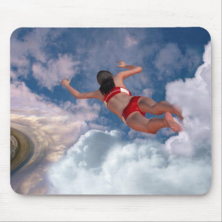 Cloud Swimming Mouse Pad