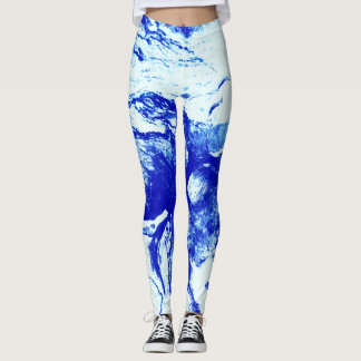 Cloud Swirl Leggings
