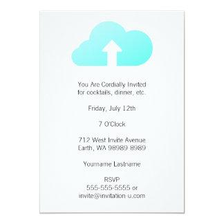 Cloud Upload Card