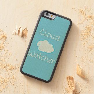 Cloud watcher carved® maple iPhone 6 bumper case