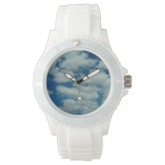 Cloud Womens Silicon Sport Wristwatch