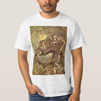 Clouded Leopard by CE Swan, Vintage Wild Animals T-Shirt