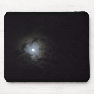clouded moon mousepad