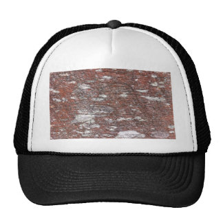Clouded Red Gum Wood -- fluffy white clouds. Trucker Hats