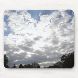 Clouds (02) mouse mats