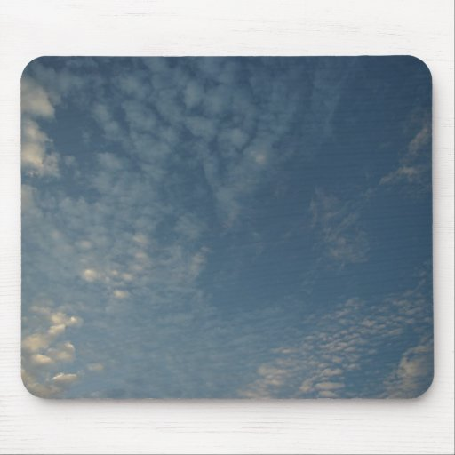 Clouds #1 mouse pads