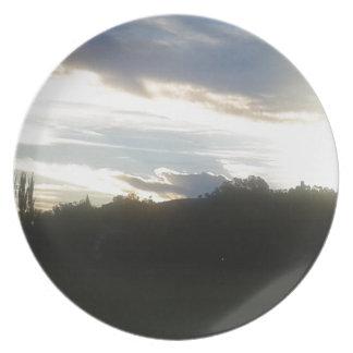 Clouds 1 plate