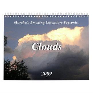 Clouds 2009 calendars
