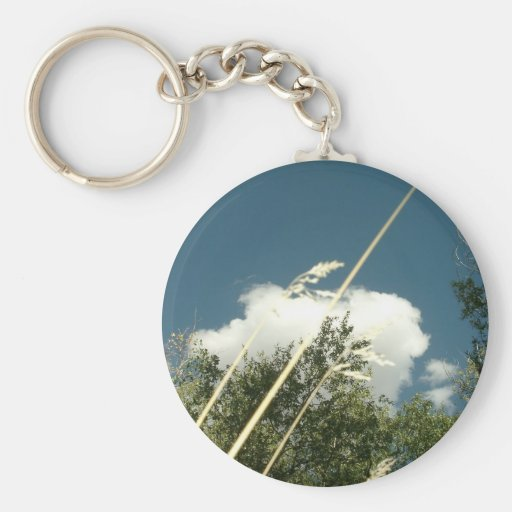 CLOUDS AND GRASS KEY CHAINS