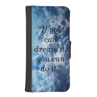 Clouds And Quote Wallet