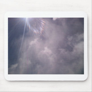 Clouds and Rays Mouse Pad