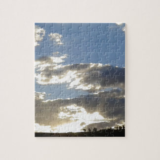 Clouds And Sun Jigsaw Puzzle