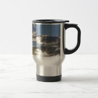 Clouds And Sun Travel Mug