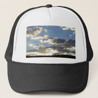 Clouds And Sun Trucker Hat