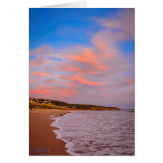 Clouds and Waves Greeting Card. Card
