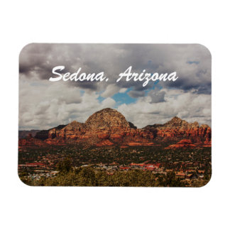 Clouds as they roll into Sedona Magnet