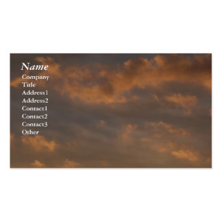 Clouds at Sunset - Business Cards