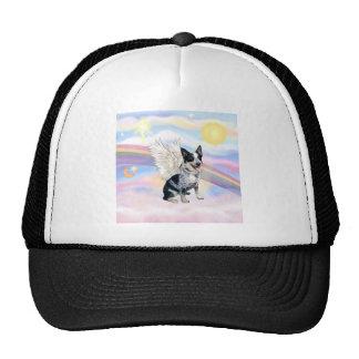 Clouds - Australian Cattle Dog Angel - Square Cap