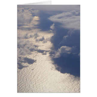 Clouds Blank Card (Design 4)
